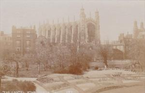 England The Chapel Eton College Real Photo