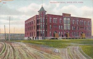 Iowa Sioux City Exchange Building