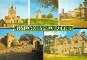 Postcard Historic Isle of Wight, Multi View by J. Salmon Ltd N19