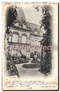 Old Postcard La Rochelle Cours De La Maison Henri II