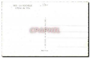 La Rochelle Old Postcard L & # City 39hotel