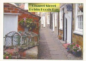 Robin Hoods Bay Newsagents Chapel Street Postcard
