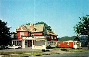 New Jersey Hackensack Red Lion Inn Main Street At Euclid Avenue