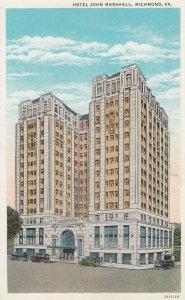 RICHMOND , Virginia , 1910s ; Hotel John Marshall