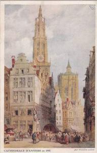 Cathedrale D'Anvers En 1895, Antwerpen, Belgium, 1910-1920s