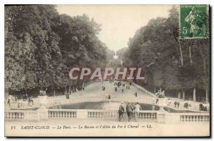 Postcard Old Saint Cloud Park Basin and Ellee of Fer a Cheval