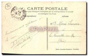 Old Postcard Versailles Basin Dragon