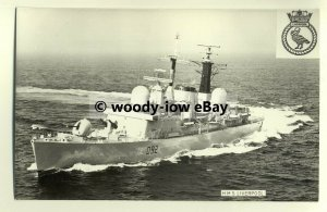 na1594 - Royal Navy Warship -  HMS Liverpool - photograph