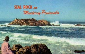 CA - Monterey Peninsula. Seal Rock, 17-Mile Drive