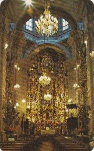 Mexico Interior Santa Prisca Church Taxco