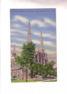 St Dunstan's Basilica, Charlottetown Prince Edward Island,
