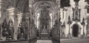 Aldersbach Germany Kirsche Donau 3x German Real Photo Religious Postcard s