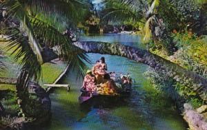 Hawaii Polynesian Cultural Center Tahitian Family Under The Serpent Tree