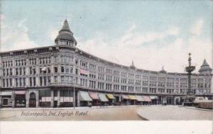 English Hotel Indianapolis Indiana 1910