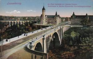 Luxembourg Le Pont Adolphe et l'ancien Viaduc