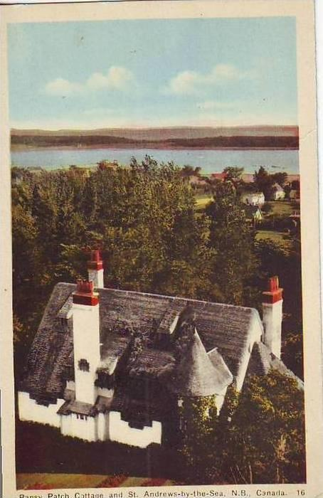 B4896 Saint Andrews by the sea and Pansy Patch Cottage not