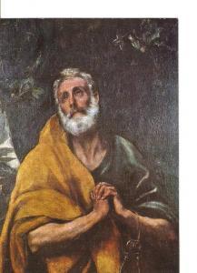Postal 020980 : Lagrima de San Pedro (El Greco) - Toledo