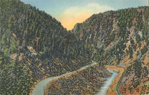 Linen of Byers Canon, Railroad & U.S. 40 Highway Colorado R