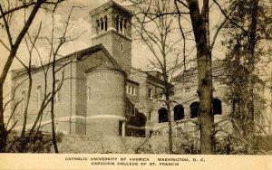 DC - Washington. Catholic Univ. of America. Capuchin College of St Francis