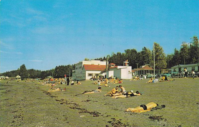 Hotel Au Bec Fin, Ste-Luce Sur Mer,  Rimouski,  Quebec,  Canada,  40-60s