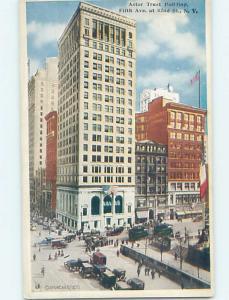 Unused W-Border ASTOR TRUST BUILDING New York City NY hn9695