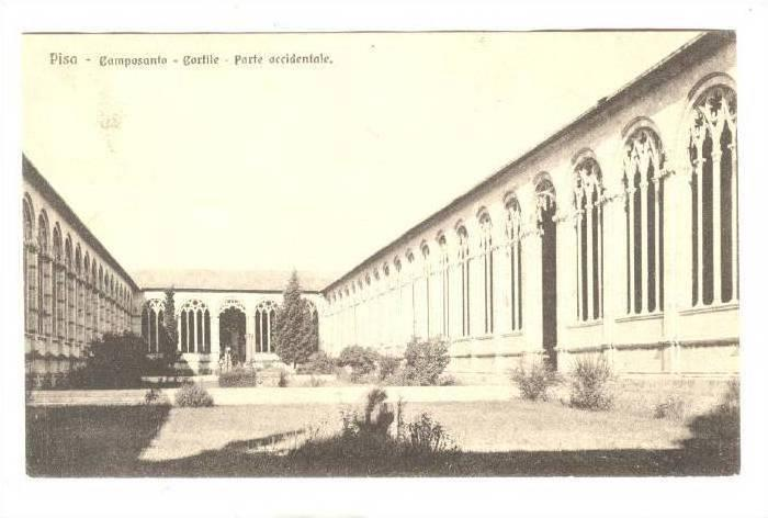 Camposanto- Cortile- Parte Occidentale, Pisa (Tuscany), Italy, 1900-1910s