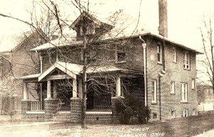 C.1910 RPPC Priest Parlor, Caraghra, Ohio Postcard P123