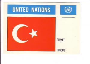 Turkey, Flag, United Nations