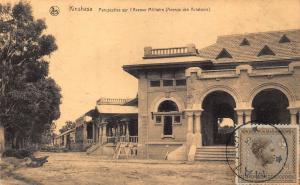 Belgian Congo Belge Kinshasa l'Avenue Militaire Postcard
