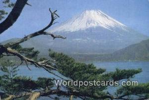 Japan Mt Fuji Lake Motosu Mt Fuji Lake Motosu