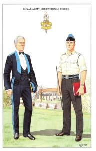 Postcard The British Army Series No.74 Royal Army Educational Corps Geoff White