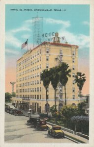 BROWNSVILLE , Texas , 1910s ; Hotel El Jardin