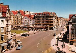 Belgium Knokke Zoute, Avenue du Littoral Kustlaan Auto Voitures Vintage Cars
