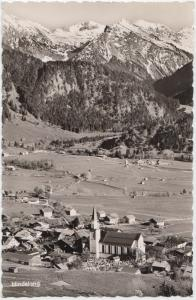 Kurorte Hindelang-Bad Oberdorf 851 m, Allgauer Alpen, Germany, used Real Photo