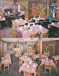 STOCKTON, New Jersey, 1940-1960's; Colligan's Stockton Inn, Dining Room, Map ...