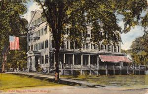 Plymouth Massachusetts Hotel Samoset Exterior Antique Postcard K21847
