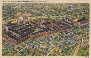 AKRON , Ohio , 1930-40s ; B.F. Goodrich Rubber Company
