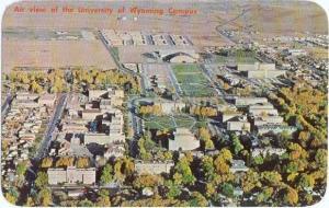 Air View of University of Wyoming Laramie WY 1968
