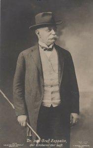 RP: Germany , 1909 ; Dr. ing. Graf ZEPPELIN, der Eroberer der Luft