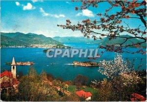 Postcard Modern Lago Maggiore Isole Borromeo
