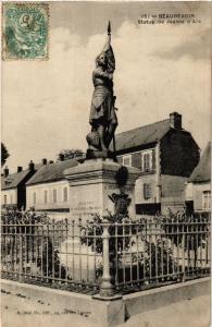 CPA BEAUREVOIR - Statue de Jeanne d'Arc (513271)