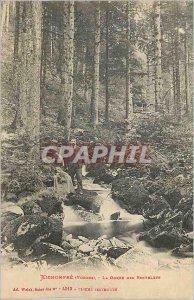 Postcard Old Kichompr? (Vosges) The Gorge Roitelete