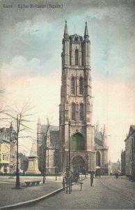 Belgium Gand Ghent Eglisde St Bavon Lacade 04.84