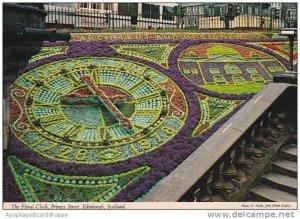 Scotland Edinburgh Floral Clock Princess Street
