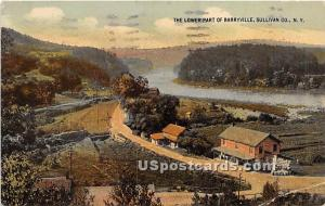 Lower Parts Barryville NY 1936