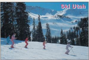 Skiing , Utah , 50-70s