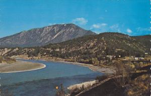The junction of the scenic Fraser and Thompson River,  Lytton,  B.C.,   Canad...