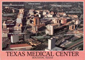USA Houston Texas The Ever Changing Medical Center Aerial view