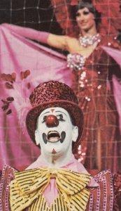 Barnum & Bailey Circus Clown postcard, 50-60s # 7