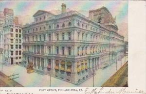 Pennsylvania Philadelphia Post Office 1906